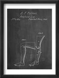 Artificail Leg Patent 1846 Plakater