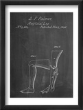 Artificail Leg Patent 1846 Poster