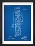 Wright Brother's Flying Machine Patent Umělecké plakáty