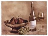 Fruit And Wine II Prints by Judy Mandolf