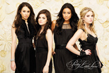 Pretty Little Liars- Black Dresses Poster