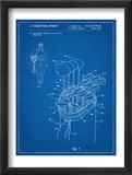 Golf Walking Bag Patent Golf Patent Umělecké plakáty