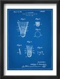 Badminton Shuttle Patent Umění