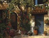 Il Giardino Fiorito Art by Guido Borelli
