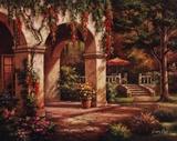 Arch Courtyard II Art par Sung Kim