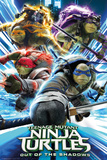 Teenage Mutant Nnja Turtles 2- Group Charge Poster by WORLDWIDE
