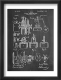 Diesel Engine Patent Prints