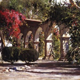 Sunlit Archway Art by Cyrus Afsary