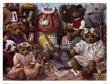 Teddy Bear Wear Prints by Janet Kruskamp