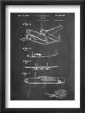 Howard Hughes Airplane Patent Plakater