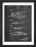 Howard Hughes Airplane Patent Reprodukcje