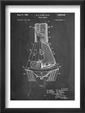 Space Capsule, Space Shuttle Patent Plakaty