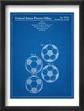 Soccer Ball Patent Plakát