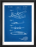 Howard Hughes Airplane Patent Poster
