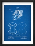 Baby Diaper Patent Schilderij