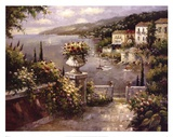 Capri Vista II Print by Peter Bell