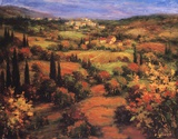 Umbria Panorama Posters by S. Hinus
