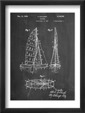 Sailboat Patent Obrazy