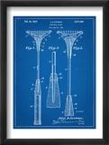 Badminton Racket Patent Plakát