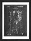 Lacrosse Stick Patent Print