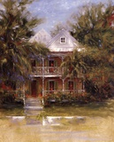 Keywest Cottage I Art by J. Martin