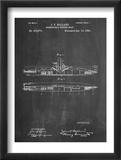 Submarine Vessel Patent Umělecké plakáty