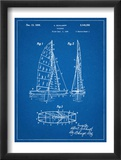 Sailboat Patent Plakaty
