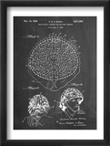 Camouflage Military Helmet Patent Posters