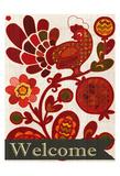Chicken Day Welcome Kunst van Kimberly Allen