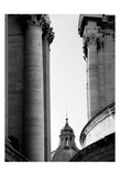 Vatican Dome and Column Prints by Jeff Pica