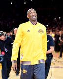 Kobe Bryant #24 Before his Last Game - Los Angeles Lakers vs Utah Jazz, April 13, 2016 Photo af Harry How