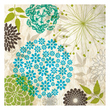 Sparklers Floral 3 Prints by Melody Hogan