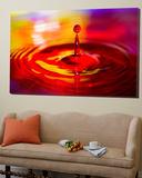 Water Drop 2 Prints by Margaret Morgan