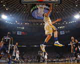 Klay Thompson 11 Drives to the Basket - Golden State Warriors vs Memphis Grizzlies, April 13, 2016 Photo by Garrett Ellwood