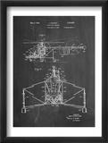 Sikorsky Helicopter Patent Plakát