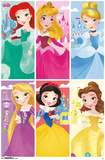 Disney Princesses- Kingdoms Of Colors Posters