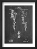 Tattoing Machine Patent 1891 Poster