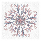 Florentine Scroll 1 Print by Lorraine Rossi