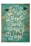 Love Birds Art by Jace Grey