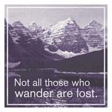 GO Wander Pósters por Lauren Gibbons