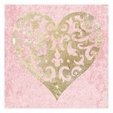 Heart Glitz 3 Posters by Melody Hogan