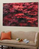 Red Splash Poster by Art Wolfe