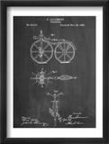 First Bicycle Patent Kunstdruck
