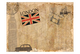 Post Card London Posters by Kimberly Allen