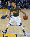 Stephen Curry 30 Warms Up - Golden State Warriors vs Memphis Grizzlies, April 13, 2016 Photo by Thearon W. Henderson