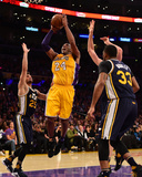 Kobe Bryant 24 - Los Angeles Lakers vs Utah Jazz, April 13, 2016 Photo by Harry How