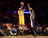 Kobe Bryant 24 - Los Angeles Lakers vs Utah Jazz, April 13, 2016 Photographie par Harry How