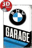 BMW - Garage Blikskilt