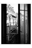 Paris Hotel Window Art by Jeff Pica