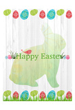 Easter Eggs Print by Kimberly Allen